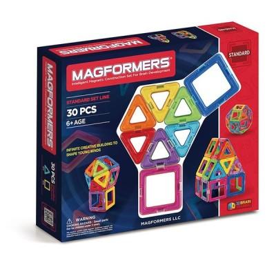 マグフォーマー MAGFORMERS 30ピース レインボーセット マグネットブロック 創造力 想像力 ブロック プレゼント ギフト 誕生日 クリスマス ラッピング