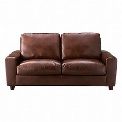 ソファー クラフト 3人掛け ( 送料無料 チェア 椅子 三人掛け ソファ ビンテージ家具 レザー調 革 ミッドセンチュリー 重厚感