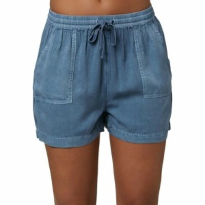 オニール ONeill レディース ショートパンツ ボトムス・パンツ Fern Woven Shorts Slate