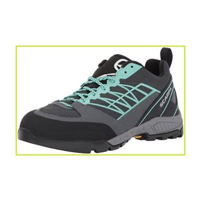 SCARPA Women's Epic LITE WMN Hiking Shoe, Dark Grey/Jade, 39 EU/7.5 M US【並行輸入品】