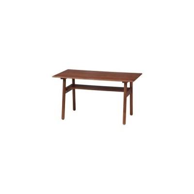 ds-2338429 ダイニングテーブル ミディアムブラウン 幅120×奥行70×高さ66cm 組立品 (ds2338429)