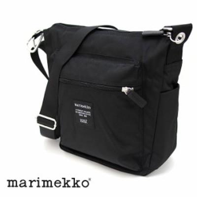 MARIMEKKO マリメッコ ショルダーバッグ  ブラック レディース 026991 PAL SHOULDER BAG パル マリメッコ バッグ