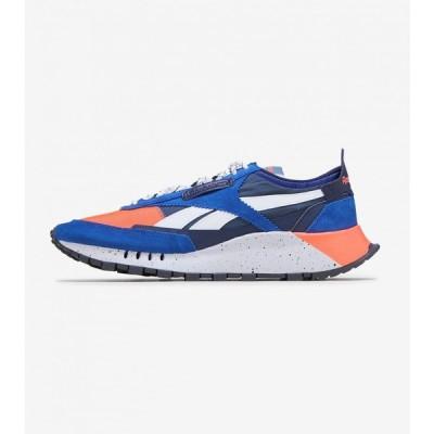 リーボック Reebok メンズ ランニング・ウォーキング シューズ・靴 Classic Leather Legacy Collegiate Royal/Orange Flare/Brave Blue