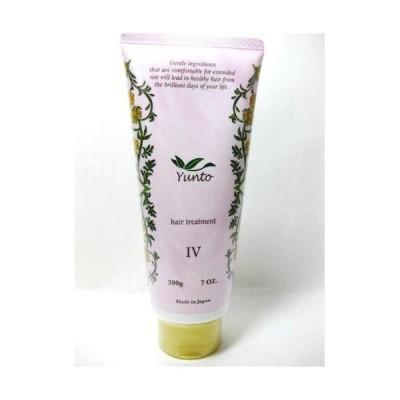 DEMI デミ ユント ヘアトリートメント 4 (IV) 200g Yunto Treatment しっとり 美容室 サロン専売品