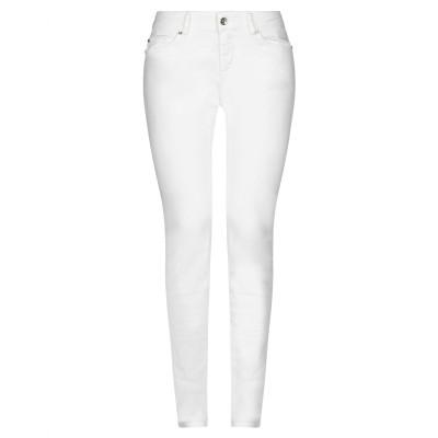 リュー ジョー LIU •JO パンツ ホワイト 33W-32L コットン 96% / ポリウレタン 4% パンツ