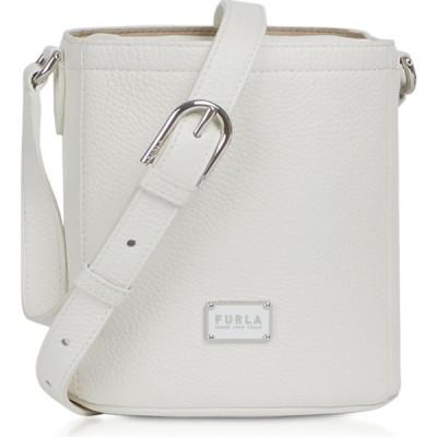 フルラ Furla レディース ショルダーバッグ バッグ Set Mini Drawstring Leather Shoulder bag Chalk