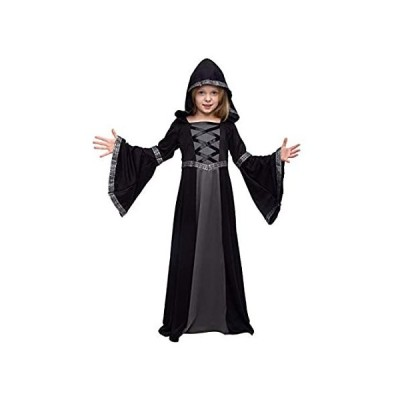 Hooded Robe Costume for Girls Halloween Role-playing Party