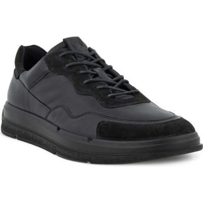 エコー ECCO メンズ スニーカー シューズ・靴 Soft X Sneaker Black/Black