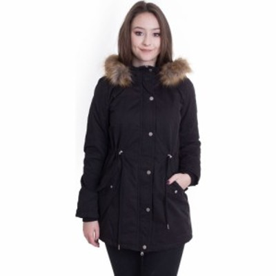 アーバンクラシックス Urban Classics レディース ジャケット アウター - Sherpa Lined Peached Black - Jacket black