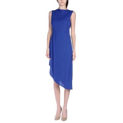 リュー ジョー LIU •JO 7分丈ワンピース・ドレス ブルー 44 レーヨン 100% 7分丈ワンピース・ドレス