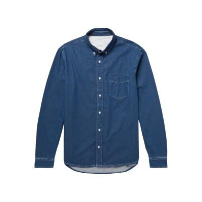 SANDRO デニムシャツ ブルー S コットン 100% デニムシャツ