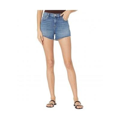 Hudson Jeans ハドソン ジーンズ レディース 女性用 ファッション ショートパンツ 短パン Gemma Mid-Rise Cutoffs Shorts in Habitual - Habitual