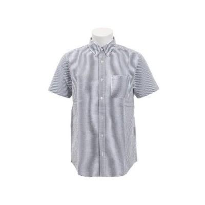 エーシーピージー(ACPG) シアサッカー半袖シャツ 871PA9EG6332GRY オンライン価格 (メンズ)