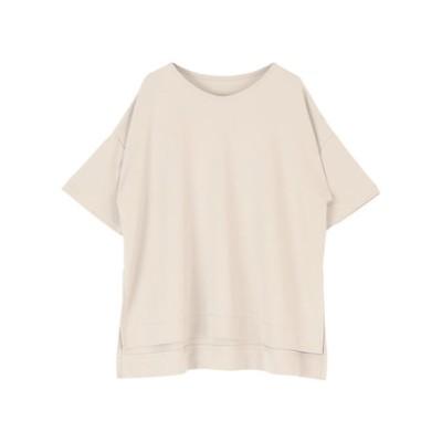 バックロゴリラックスカットソーTシャツ