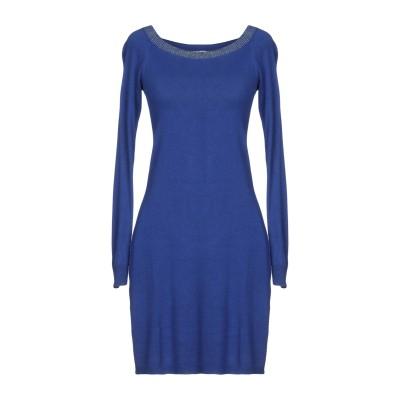 リュー ジョー LIU •JO ミニワンピース&ドレス ブルー M 95% レーヨン 5% ポリウレタン ミニワンピース&ドレス