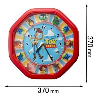 リズム 置き時計からくり時計M440/トイ・ストーリー 4MH440MC01[4MH440MC01] 返品種別A