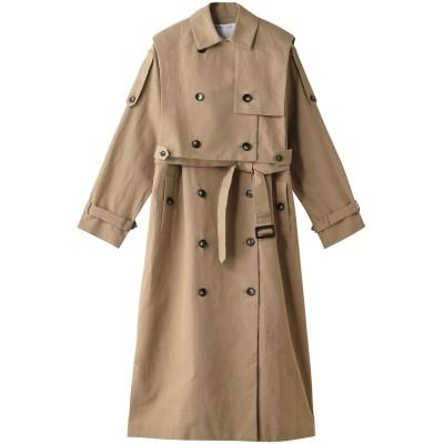RIM.ARK リムアーク Arrange over size trench coat/トレンチコート レディース ベージュ 36