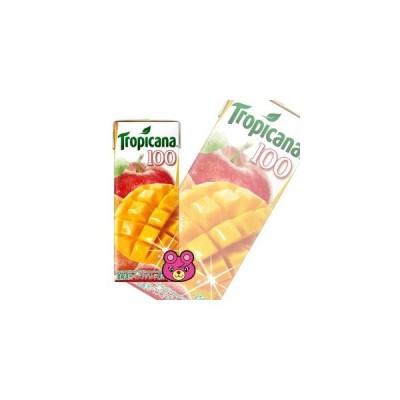 .キリン トロピカーナ 100%ジュース マンゴーブレンド 紙パック 250ml×24本入 /飲料/HF