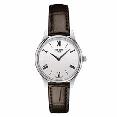 腕時計 ティソ レディース Tissot Tradition 5.5 Quartz Silver Dial Ladies Watch T063.209.16.038.00