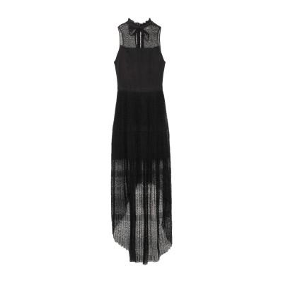 ピンコ PINKO ロングワンピース&ドレス ブラック 42 ポリエステル 100% ロングワンピース&ドレス