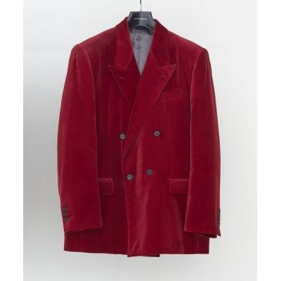 PR01. / LITTLEBIG Velvet 4B Double Breasted Jacket (LB203-JK03) MEN ジャケット/アウター > テーラードジャケット