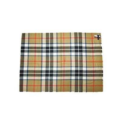 John Scottジョン・スコット Extra Fine Merino Wool Stole メリノウール・ストール (4.Camel S