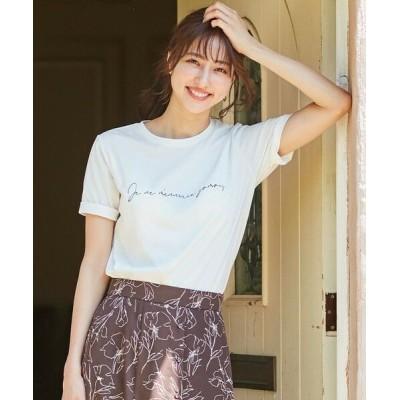 any SiS/エニィスィス 【NAIL HOLICコラボ】ロゴ Tシャツ オフホワイト 2