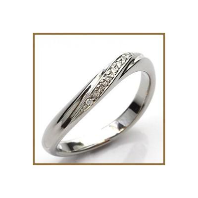 リング 指輪 レディース プラチナ PT900 ダイヤモンド D0.037 * 女性 かわいい おしゃれ 中古 ring 価格見直し