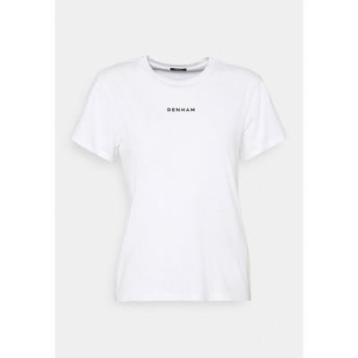 デンハム Tシャツ レディース トップス CAMELLIA GRAPHIC TEE - Print T-shirt - white
