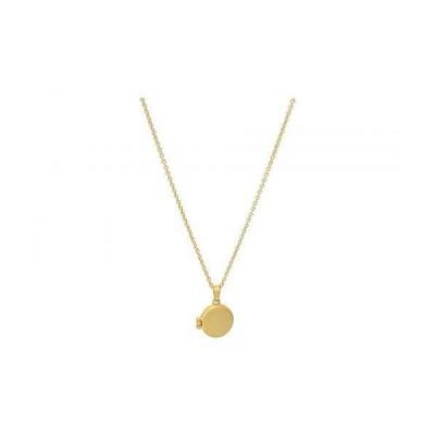 Madewell レディース 女性用 ジュエリー 宝飾品 ネックレス Locket Pendant Necklace - Vintage Gold