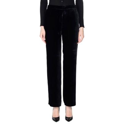 ANTONELLI パンツ ブラック 42 レーヨン 82% / シルク 18% パンツ