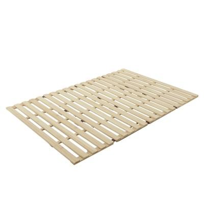 長さ210cmの四つ折れ桐すのこベッド