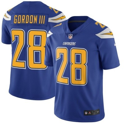 Melvin Gordon Los Angeles Chargers Nike Color Rush Vapor Untouchable Limited ユニフォーム - Royal