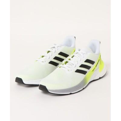 ASBee / adidas アディダス SRESPONSE SUPER M 008749 フットウェアホワイト/コアブラック/ソーラーイエロー MEN シューズ > スニーカー