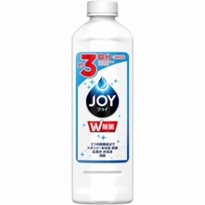 P&G 除菌ジョイ コンパクト 食器用洗剤 詰め替え 400ml