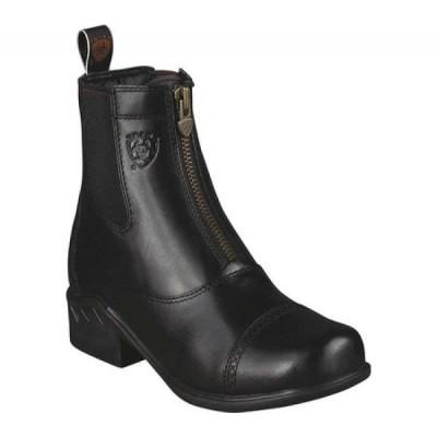 アリアト Ariat レディース ブーツ シューズ・靴 Heritage RT Zip Paddock Black Upgraded