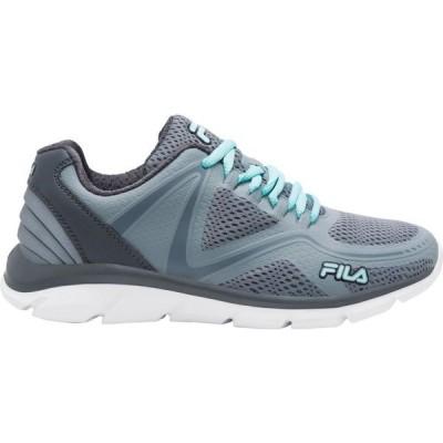 フィラ Fila レディース ランニング・ウォーキング スニーカー シューズ・靴 Memory Skyryzer Running Sneaker Monument/Dark Shadow/Aruba Blue