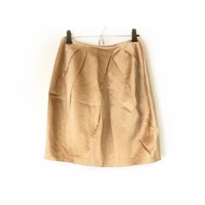 ジャスグリッティー JUSGLITTY スカート サイズ0 XS レディース 美品 ライトブラウン【中古】