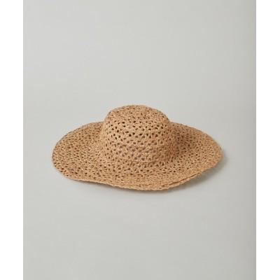 CIAOPANIC / ラフィアブレード帽子 WOMEN 帽子 > ハット