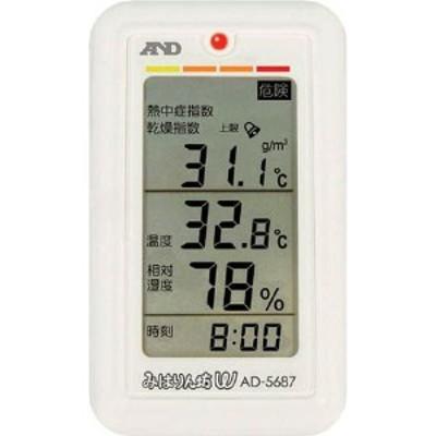 (株)エー・アンド・デイ A&D みはりん坊W(乾燥指数・熱中症指数表示付温湿度計) WO店