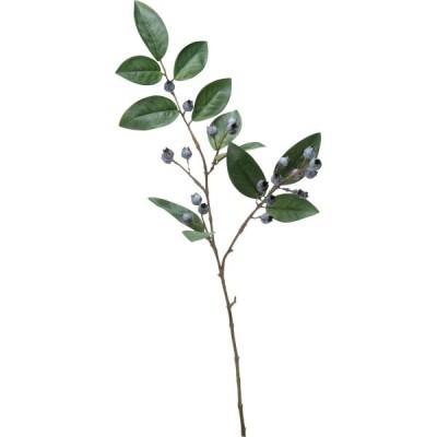 造花 YDM ブルーベリースプレー FG-5055-BLU 造花実物、フェイクフルーツ ベリー