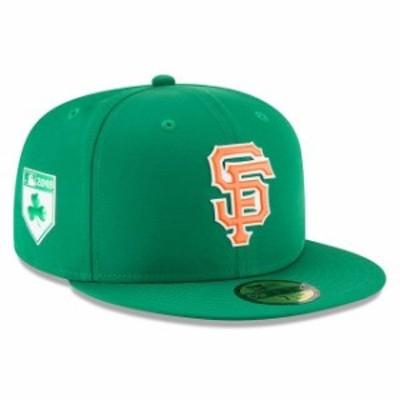 New Era ニュー エラ 服  New Era San Francisco Giants Green 2018 St. Patricks Day Prolight 59FIFTY Performance Fitted Hat