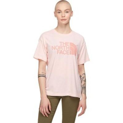 ノースフェイス レディース Tシャツ トップス Half-Dome Triblend T-Shirt Impatiens Pink Heather