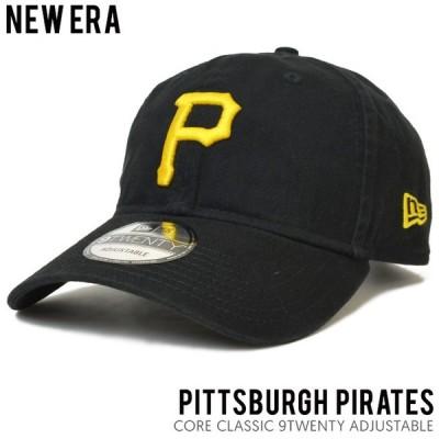 NEW ERA ニューエラ CAP キャップ CORE CLASSIC 9TWENTY 帽子 ストラップバックキャップ MLB PITTSBURGH PIRATES NEWERA