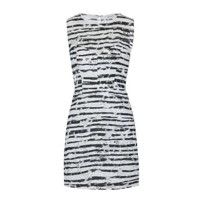 ミリー MILLY ミニワンピース&ドレス ホワイト 8 コットン 55% / ポリエステル 45% ミニワンピース&ドレス