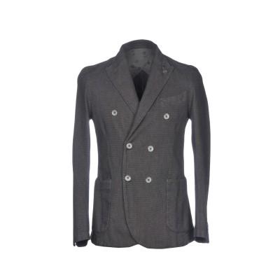 BARBATI テーラードジャケット 鉛色 48 コットン 75% / ポリエステル 23% / ポリウレタン 2% テーラードジャケット