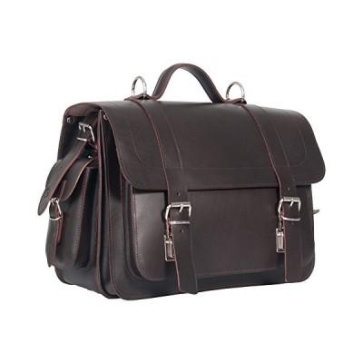 UBERBAG Pimlico Dark Brown Vegetable Tanned Leather Satchel/Backpack/Briefcase/Laptop Bag 並行輸入品