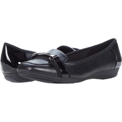 アン クライン Anne Klein レディース スリッポン・フラット シューズ・靴 Uzma Black