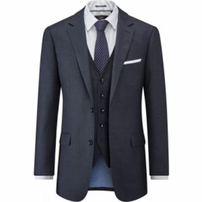スコープス Skopes メンズ スーツ・ジャケット アウター Wilder Wool Blend Suit Jacket Navy