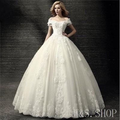 ウエディングドレス結婚式ドレス花嫁ウェディングドレスウェディングドレスプリンセスドレスエンイブニングドレス二次宴会